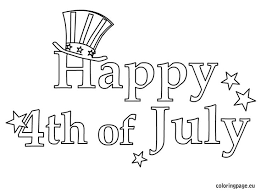 Small Picture Best Independence Day United States 4th Of July Coloring Pages