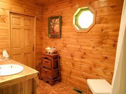 Cabin Bathroom Cabin Hallway Design Toward Light Wooden Hallway Staircases On