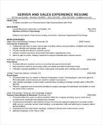 Waitress Resume Fascinating Waitress Resumes Teachengus
