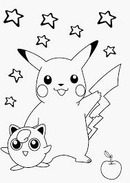 Pokemon Kleurplaten Printen Divers Pikachu Ausmalbild