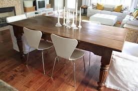 Make Your Own Kitchen Table Craigslist Dining Tablebefore After