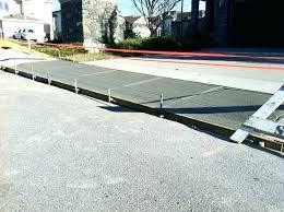 build a driveway ramp post build driveway ramp build a driveway ramp