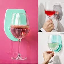 details about hot bathroom wine glass holder home kitchen bath shower bathroom stemware 1pc