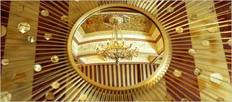mira apraxine and her husband nikolai druzin bought the starburst mirror in new york for a moscow apartment it reflects a prerevolutionary chandelier