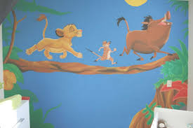 lion king mural by muggot on deviantart throughout lion king wall art gallery 1 of