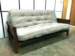 better homes and gardens wood arm futon better homes and gardens futon mission wood arm porter