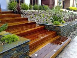 flower bed retaining wall ideas railway sleeper landscaping ideas retaining wall ideas wooden steps home design