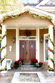 Front Door Decorating Christmas Home Door Decorations Christmas Front Door Decor