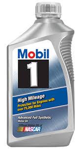Synthetic Blend Oil Comparison Chart Mobil 1 High Mileage Synthetic Motor Oil Mobil Motor Oils