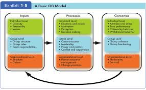 notes organizational behavior raw  a basic ob model png
