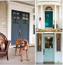 painting front doorTempting Paint Colors for the Front Door Paint It Monday