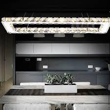 modern rectangular ceiling fixtures genuine crystal lighting chandeliers light k