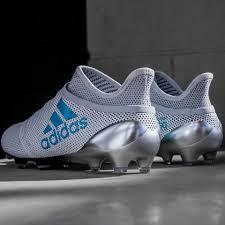 adidas 17. adidas x 17+ purespeed fg - white/energy blue/clear grey 17 .