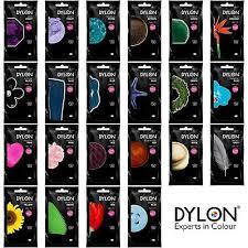 Dylon Dyes Colour Chart Nz Dylon Hand Dye 50g Dye For Fabric Clothes Jeans Textile Cotton Wool Silk Linen Ebay