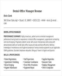 dental office manager resume haadyaooverbayresort dental office resume