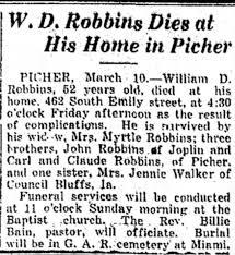 William D. Robbins Obit - Newspapers.com