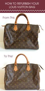Restoring Antique Leather How To Refurbish A Louis Vuitton Bag Lollipuff