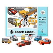 Foldable Paper Car Buy Jar Melo 3d Paper Model Paper Craft Folded Paper Kit Motor