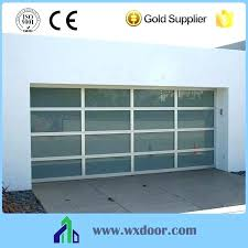 Clear glass garage door Tempered Glass Clear Niipinfo Clear Garage Doors For Sale Clear Garage Doors Clear Garage Doors