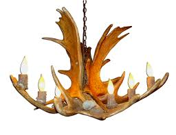 68 most first class deer antler chandelier ceiling fan faux light fixture lamps whitetail for
