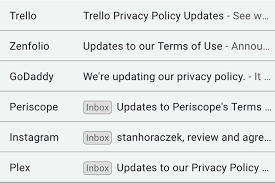 Here's why you've been getting so many privacy policy and terms of ...