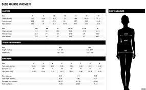 Gap Plus Size Chart 54 Surprising Gap Size Guide Uk