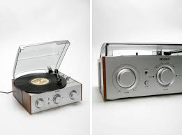 Pult Drei: Designed by Stella Moebel, this turntable is a great example of  everything we love about floating furniture.