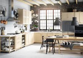 Ikea Kitchen Ikeas Bjorket Design Is A Light And Airy Birch Door Will Bring A