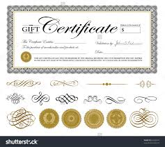 vector premium certificate template or nts easy stock vector vector premium certificate template and or nts easy to edit perfect for gift certificates and