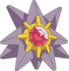 Pokemon 121 Starmie Pokedex Evolution Moves Location Stats