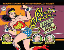 Wonder woman comic strips