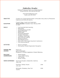 Dental Assistant Resume Examples Event Planning Template
