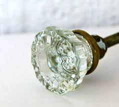 vintage green and crystal door knobs glass knob pair with antique canada antique glass door knobs