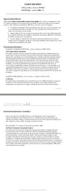 Sample Chronological Resume Chronological Resume 99