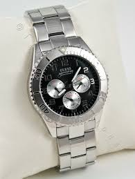 new guess men watch ss steel bracelet black leather strap box gift i214 photobucket com albums cc91 timecollections