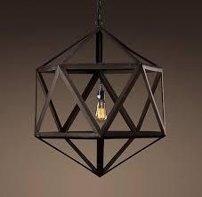 restoration hardware pendant lighting fixtures. polyhedron medium pendant outdoor lighting restoration hardware lights fixtures h