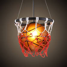 kids room lighting fixtures. fashion basketball boys room pendent lamp vintage child lighting kids bedroom light fixtures