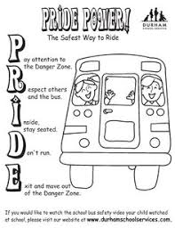 Small Picture Bus Safety School Safety Printable 2nd Grade TeacherVision