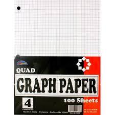 Ddi 1392730 Graph Paper 100 Sheets Case Of 48 Walmart Com