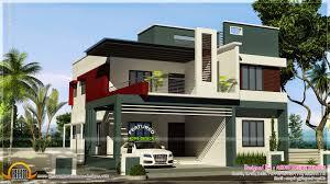 exquisite modern duplex home plans 2 house ultra design india