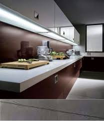 led lighting strips kitchen. Modern Kitchen Under Cabinet Lighting - Installing LED Lights Strips Led H