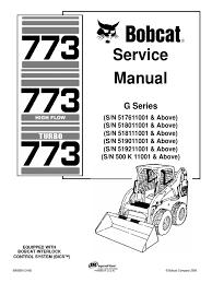 bobcat 773 service repair manual elevator mechanical engineering S160 Bobcat Fuse Box Location Bobcat S220 Fuse Box Location #36