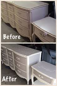 diy vintage furniture. Exellent Vintage DIY  Chalk Paint Vintage Furniture French Provincial Dresser And Night  Stand With Diy Furniture