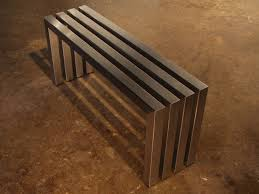 Modern Indoor Bench 35 Perfect Furniture On Modern Metal Benches