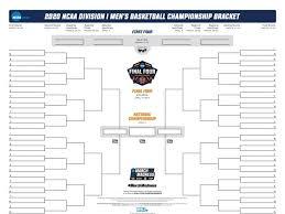 Ncaa Basketball Tournament Seating Chart 2020 Ncaa Bracket Printable March Madness Bracket Pdf