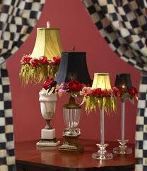 mackenzie childs chandelier shades new add a little cheer to your favorite lamps mackenzie