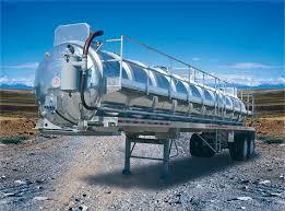 7 000 Gallon Aluminum Vacuum Tank Trailer