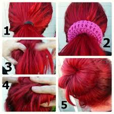 Sock Bun Hair Style crochet dynamite better than a sock bun 5804 by wearticles.com