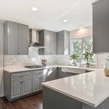 the 25 best gray kitchen cabinets ideas