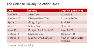 chinese labour day holiday to be